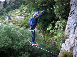 El Risco - Puente nepalí