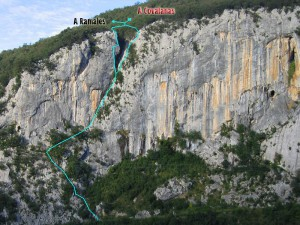 Itinerario Ferrata El Cáliz