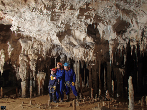 Columns Hall -Coventosa Cave -nor3 adventure