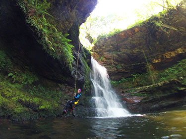 Intermediate Canyoning