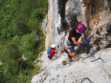 Novice Vías ferrata