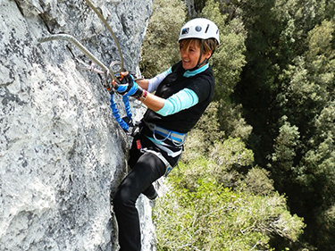 Vías ferrata de nivel medio