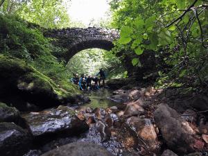 Puente de Piedra - Inicio de la actividad