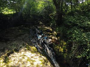 Barranco del Aján - Tobogán de 7 metros