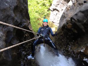 Barranco del Argumedo - Rapel de 30 metros