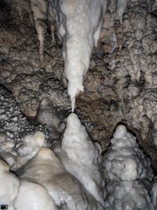 Coventosa Fantasmas - Columna a punto de formarse