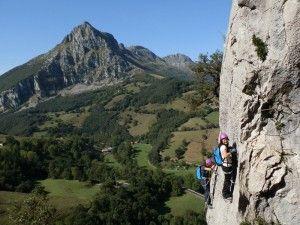 Impresionantes vistas con el Pico San Vicente al fondo