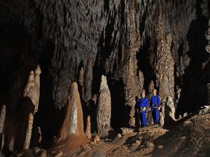 Estalagmitas Gigantes - Cueva Coventosa