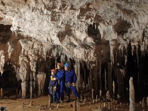 Sala de las Columnas - Cueva Coventosa