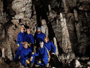 Gran Columna en la Cueva Coventosa - Sala de los Fantasmas