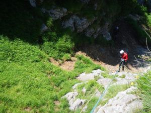 Via Ferrata La Concha Final del Rapel