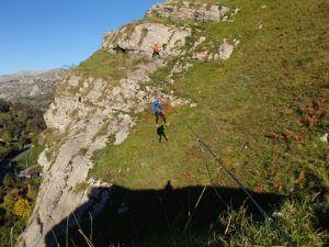 Vía Ferrata La Concha Tirolina
