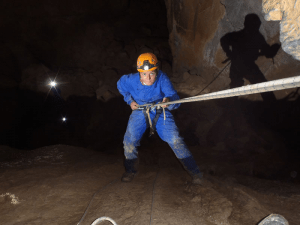 Cayuela - Rapel de 8 metros