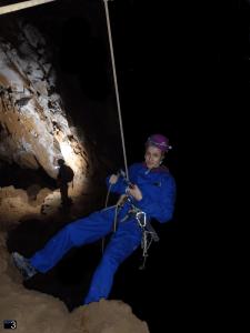 Coventosa Gours - Rapel de 10m