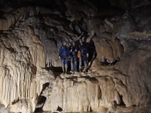 Cueva Fresca - Galería de entrada