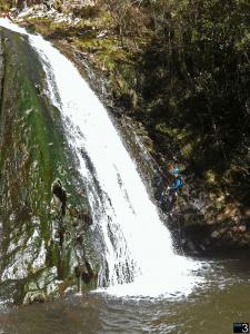 Barranco del Navedo - Rapel de 21 metros