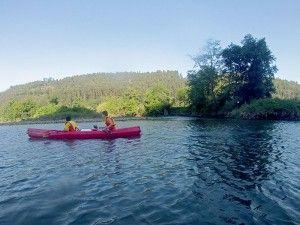 Ampuero - Colindres: En la canoa