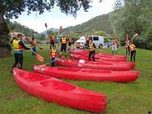 Ampuero - Limpias: Canoas