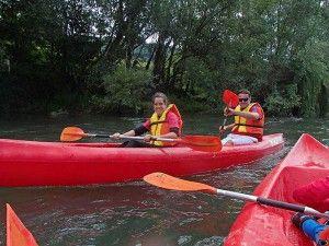 Ampuero - Limpias: Juntando las canoas