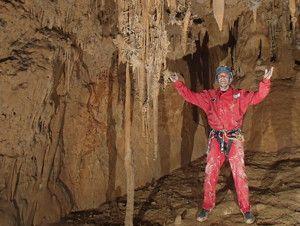 Sala del Caos en Cueva Mur