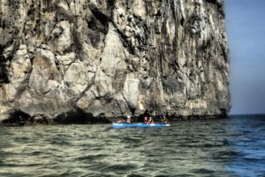 Travesia en canoa Faro del Caballo